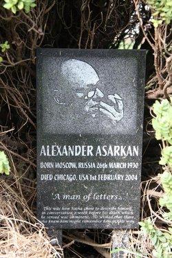 Alexander Asarkan