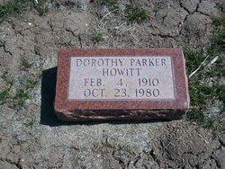 Dorothy <i>Parker</i> Howitt