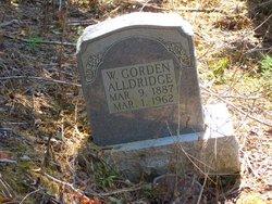W Gorden Aldridge