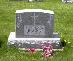 Mary Edna Backs