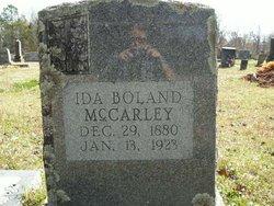Ida Etho <i>Boland</i> McCarley