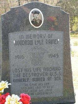 Woodrow Lyle Rainey