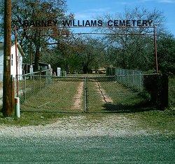 Barney Williams Cemetery