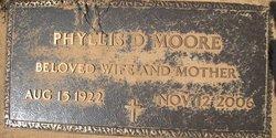 Phyllis Sarah <i>Davis</i> Moore