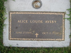 Alice Louise <i>Dotta</i> Avery