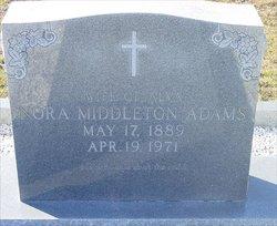 Nora Myreen <i>Middleton</i> Adams