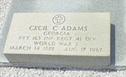 Cecil Cuthbert Adams