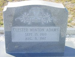 Clester Winton Adams