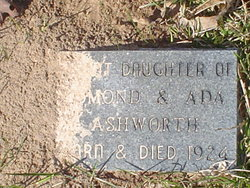 Infant Daughter Ashworth
