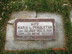Maria Lucinda <i>Pierce</i> Pendleton