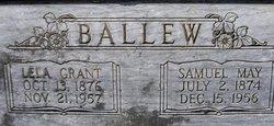 Lela Florence <i>Grant</i> Ballew