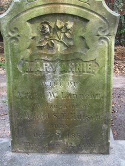 Mary Annie <i>Hutson</i> Lanneau