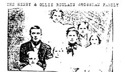 Ollie Jane <i>Roulain</i> Grossman