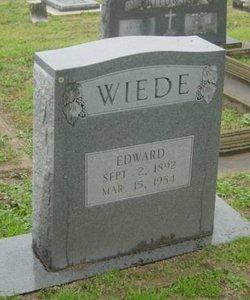 Eduard August Friedrich Edward Wiede