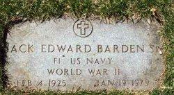 Jack Edward Barden, Sr