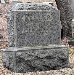 Martha M <i>Drake</i> Keeler