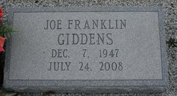 Joe Franklin Giddens