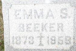 Emma S. <i>Krapohl</i> Beeker