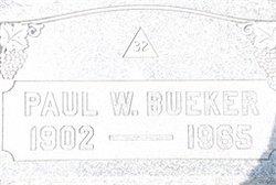 Paul W. Bueker