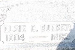 Elsie C. <i>Sperling</i> Bueker