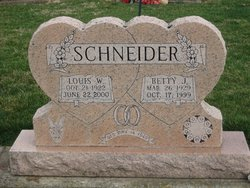 Betty June <i>Reuss</i> Schneider