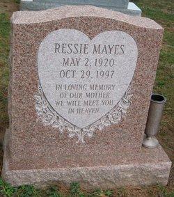 Ressie Mayes