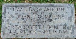 Elizabeth Gary Lizzie <i>Griffith</i> Bolton