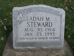 Adah M. Steward