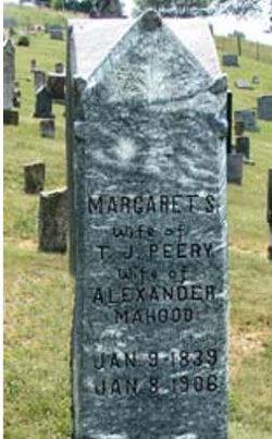 Margaret Spangler <i>Spracher</i> Mahood Peery