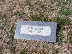 W W Barbee