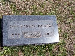 Mae Randall Ballew