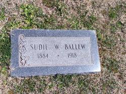 Sudie W <i>Walck</i> Ballew