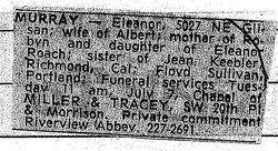 Eleanor Roberta <i>Frame</i> Murray