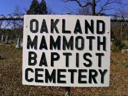Oakland Mammoth Baptist Cemetery