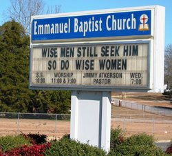 Emmanuel Baptist Church Cemetery