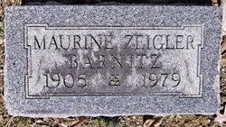 Maurine <i>Zeigler</i> Barnitz
