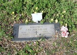 Mary Fay <i>Biediger</i> Brown