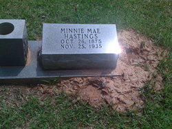 Minnie Mae <i>Barton</i> Hastings