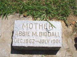Abigail Martin Abbie <i>Gillum</i> Biddall