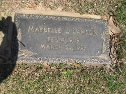 Maybelle <i>Johnston</i> Lawson