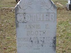 Annie E <i>Vinson</i> Booth
