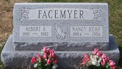 Nancy <i>Kemp</i> Facemyer