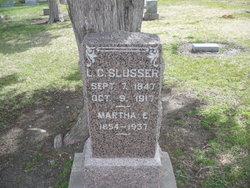 Martha E Mattie <i>Parks</i> Slusser
