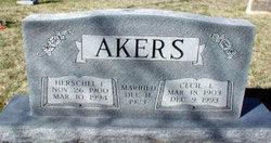 Cecil Lillie <i>Reger</i> Akers