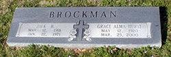 Grace Alma <i>Hurst</i> Brockman