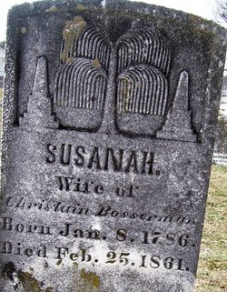 Susanah <i>Holtz</i> Bosserman