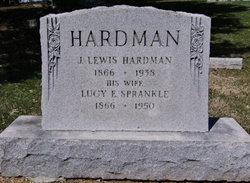 Lucinda Isabell Lucy <i>Sprankle</i> Hardman
