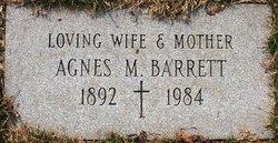Agnes M. Barrett