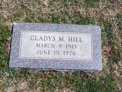 Gladys Mae <i>Slaughter</i> Hill