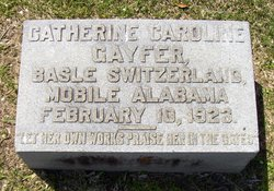 Catherine Caroline <i>Surbeck</i> Gayfer